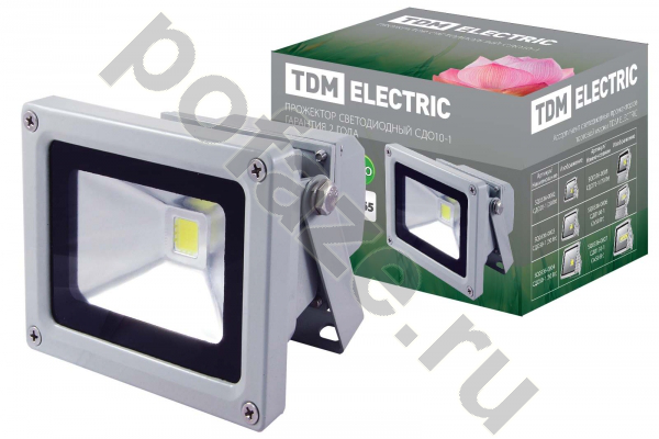 Прожектор TDM ELECTRIC СДО10-1 10Вт 220-230В 6500К IP65