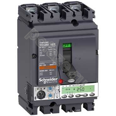 Schneider Electric Compact NS630 3П 220А 100кА (IP30)