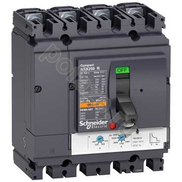 Schneider Electric Compact NS630 4П 250А 200кА (IP40)