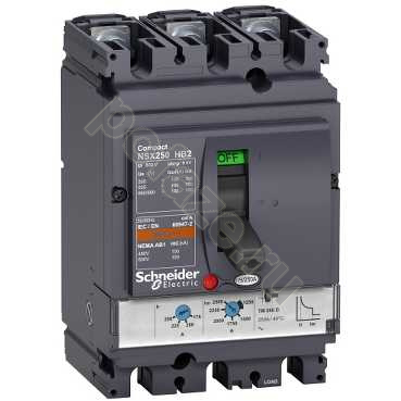 Schneider Electric Compact NS630 3П 100А 100кА (IP30)