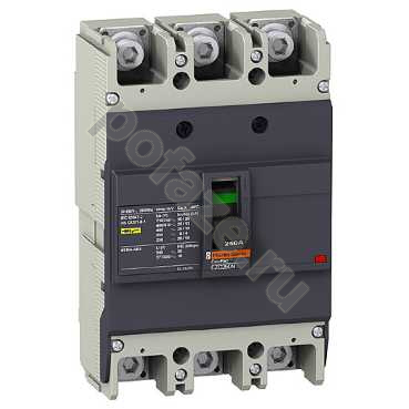 Schneider Electric EasyPact EZC 250N 3П 250А 25кА (IP20)