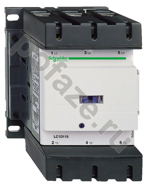 Schneider Electric TeSys D 100А 220В 1НО+1НЗ (DC)